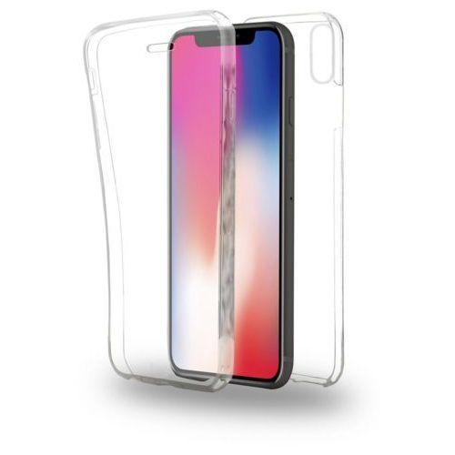 Etui AZURI TPU360 iPhone X transparentne