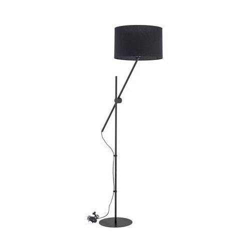 Alfa Lampa podłogowa lora czarna e27