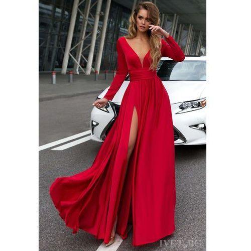 Sukienka OPHELIA RED, kolor czerwony