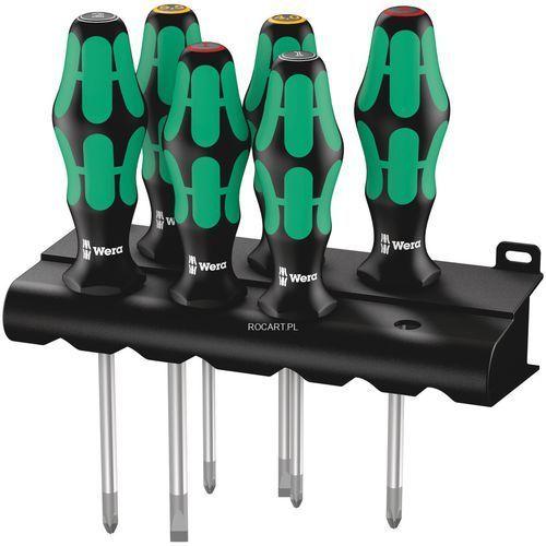 Wera 335/350/355/6 zestaw 6 wkrętaków ph/pz/płaskie kraftform lasertip (4013288041616)