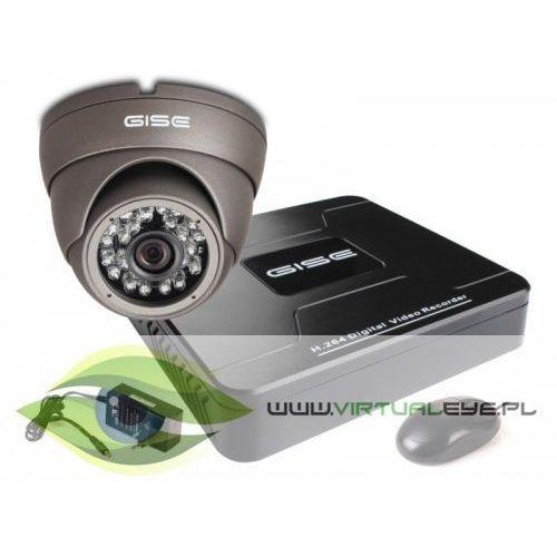 Virtualeye Zestaw startowy ahd, 1x kamera hd/ir20, rejestrator 4ch