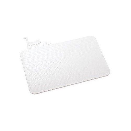 Deska do krojenia biała pi:p marki Koziol