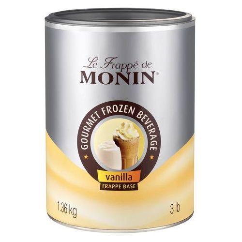 Monin Vanilla frappe base 1,36 kg (3052911098598)