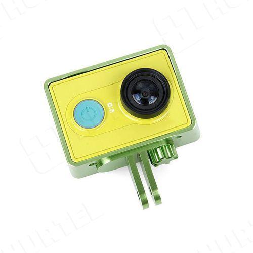 Hurtel Ochronna obudowa ramka do kamery xiaomi yi actio camera zielona - zielony