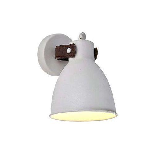 Kinkiet lampa ścienna tessio wall 2653-1x skandynawska oprawa metalowa biała marki Azzardo