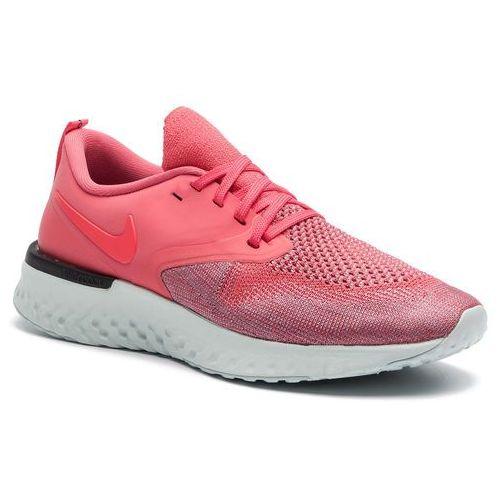 Buty - odyssey react 2 flyknit ah1016 800 ember glow/red orbit/plum dust marki Nike
