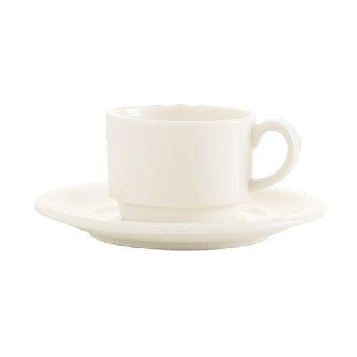 Spodek porcelanowy crema marki Fine dine