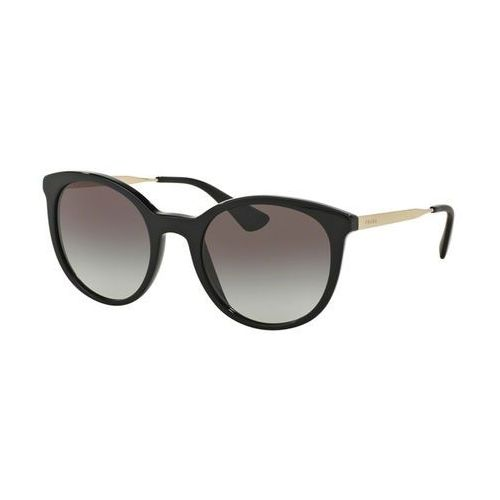 Okulary Słoneczne Prada PR17SSF CINEMA Asian Fit 1AB0A7, kolor żółty
