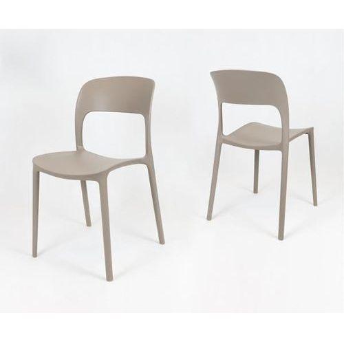 Sk design kr022 kawa z mlekiem krzesło polipropylenowe - kawa z mlekiem (5902846826781)