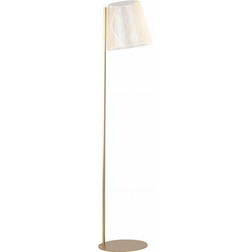 Maxlight seda f0048 lampa stojąca podłogowa 1x8w led złoty