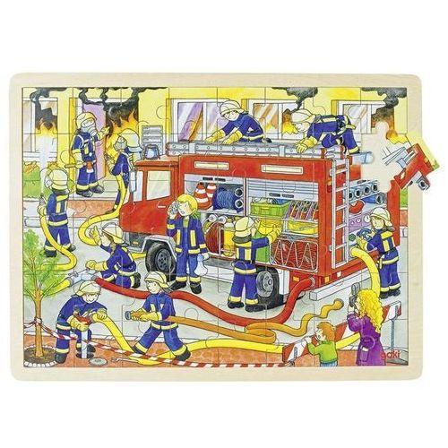 Goki Puzzle duże straż pożarna