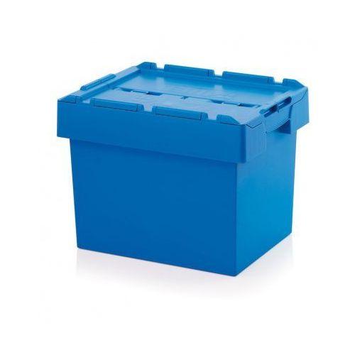 Skrzynka plastikowa z wiekiem, 600x400x440 mm marki Auer