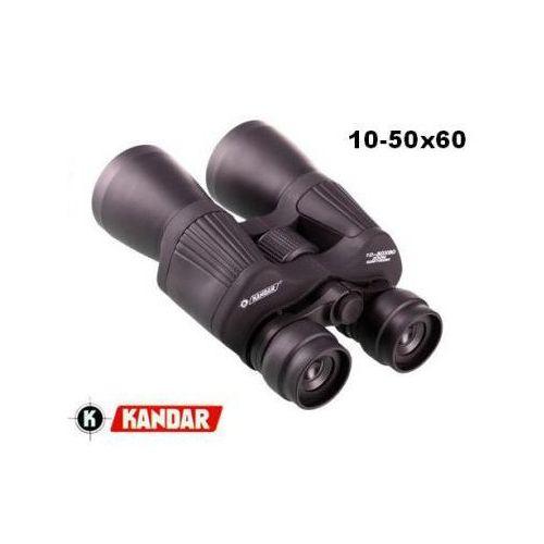 Oryginalna lornetka 10-50x60 (zoom) + mocowanie statywowe + pokrowiec i akcesoria. marki Kandar