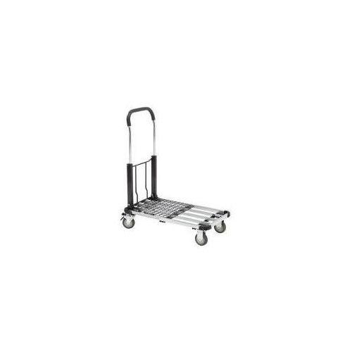 Wózek transportowy z aluminium, składany, nośność 100 kg, dł. x szer. x wys. 720 marki Seco