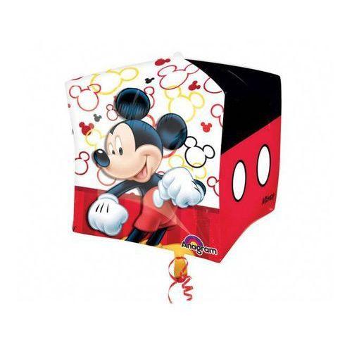 Amscan Balon foliowy sześcian myszka mickey - 38 cm - 1 szt.