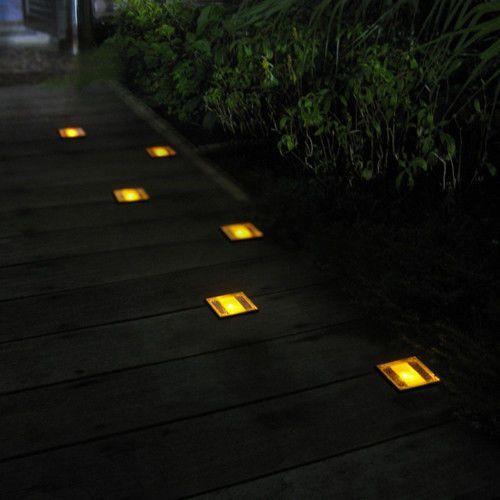 Gdzie Tanio Kupić Kwadratowa Lampa Solarna Led Najazdowa Do