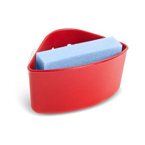 - uchwyt na gąbkę cub, czerwony - czerwony marki Umbra