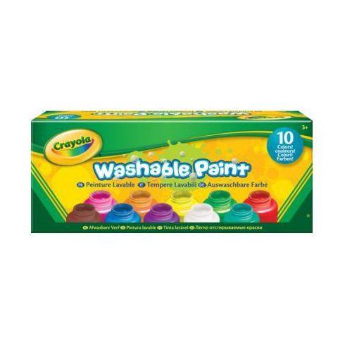 Farby w butelkach 10 sztuk - darmowa dostawa od 199 zł!!! marki Crayola