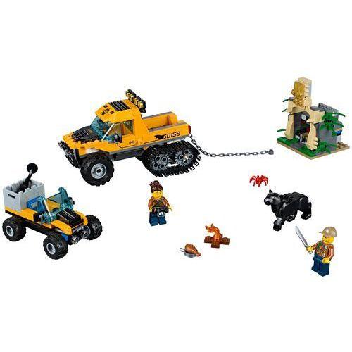 60159 MISJA PÓŁGĄSIENICOWEJ TERENÓWKI (Jungle Halftrack Mission) KLOCKI LEGO CITY