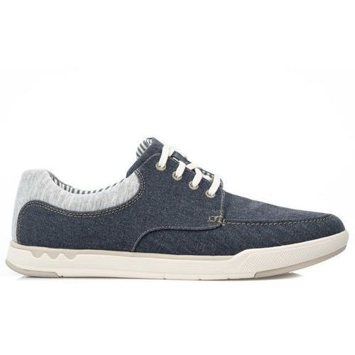CLARKS Step Isle Lace Navy (261327647) (5050408594316)