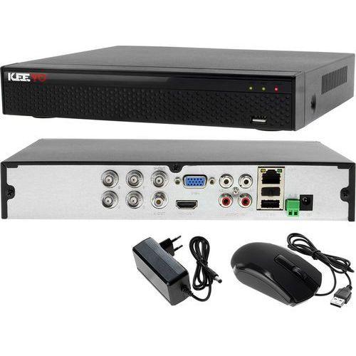 Rejestrator monitoring 4 kanałowy hybrydowy KEEYO LV-XVR44SE, LV-XVR44SE