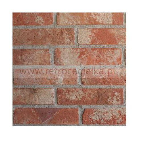 Płytki z cegły rozbiórkowej - Lica kalibrowane Fort Bema, LKA/FB