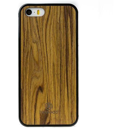 Case iphone 5 5s oliwka marki Bewood