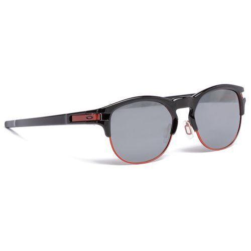 Oakley Okulary przeciwsłoneczne - latch key oo9394-0552 polished black/prizm black iridium