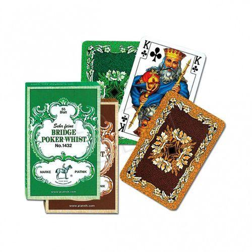 Piatnik KARTY STANDARD 2 TAL.LIŚCIE DĘBU (9001890243240)