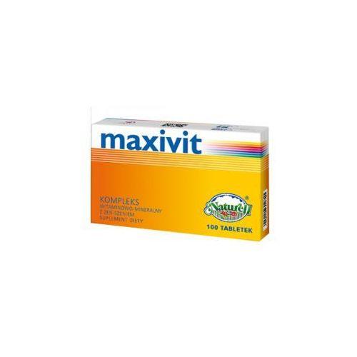 MAXIVIT Z ŻEN-SZEŃ x 100 tabletek