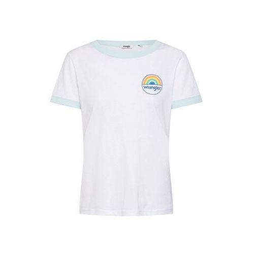 koszulka 'ringer' jasnoniebieski / biały marki Wrangler