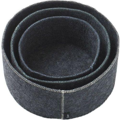 Koszyki filcowe na pieczywo New Norm Menu 3 sztuki (7400309)