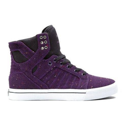 Buty - skytop purple/black (prb) marki Supra