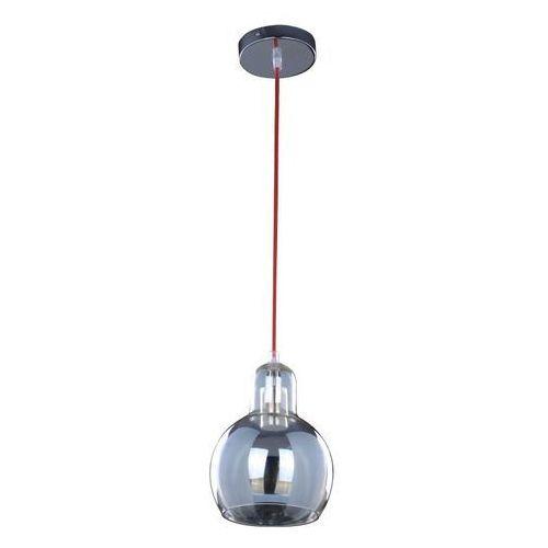 Lampa wisząca universe 9701100  szklana oprawa zwis kula ball chrom przezroczysta, marki Spotlight