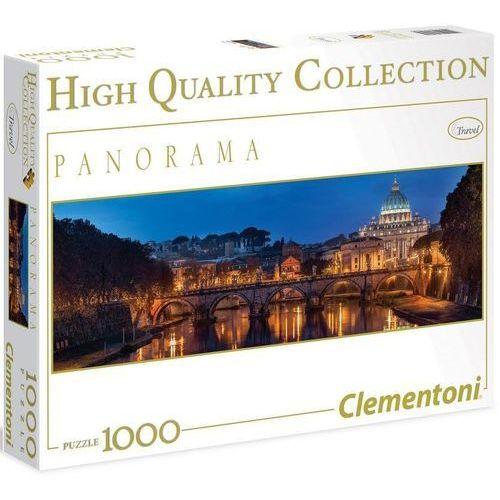 Clementoni Puzzle high quality. panorama. 1000 elementów. rzym (39343) + zakładka do książki gratis (8005125393435)
