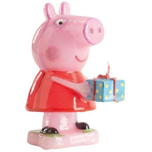 "Świeczka na tort ""świnka peppa 3d"", , 8 cm marki Dekora"