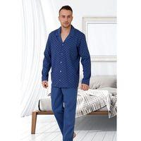 Piżama M-Max Leon Big 502 dł/r 4XL, szary, M-Max, kolor szary