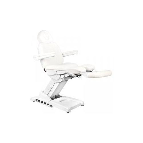 Fotel Kosmetyczny Elektr. Azzurro 872s Pedi Pro Exclusive 3 Siln. Biały