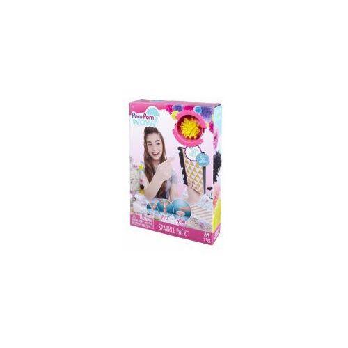 Pom pom wow zest. start. 55 pom pomów z błyszczącymi nitkami marki Tm-toys