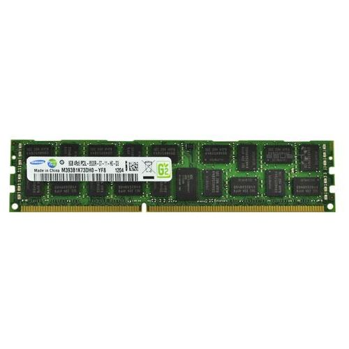 Pamięć RAM 1x 8GB SAMSUNG ECC REGISTERED DDR3 4Rx8 1066MHz PC3L-8500 RDIMM | M393B1K73DH0-YF8 (0011110233424)