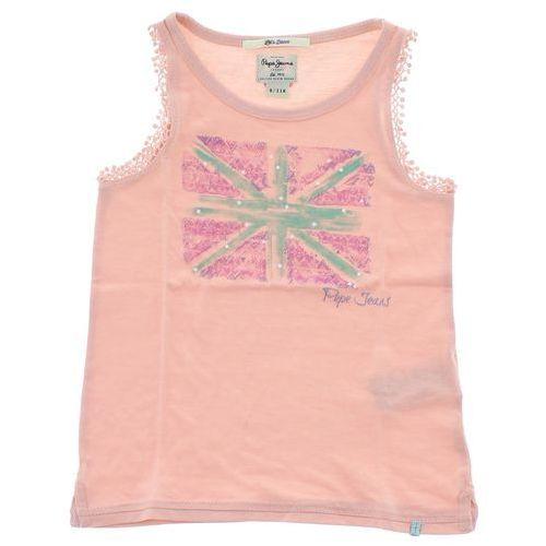 podkoszulek dziecięcy różowy 6 years old wyprodukowany przez Pepe jeans
