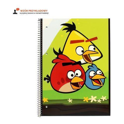 Kołozeszyt a4/80 kratka angrybirds  marki Interdruk
