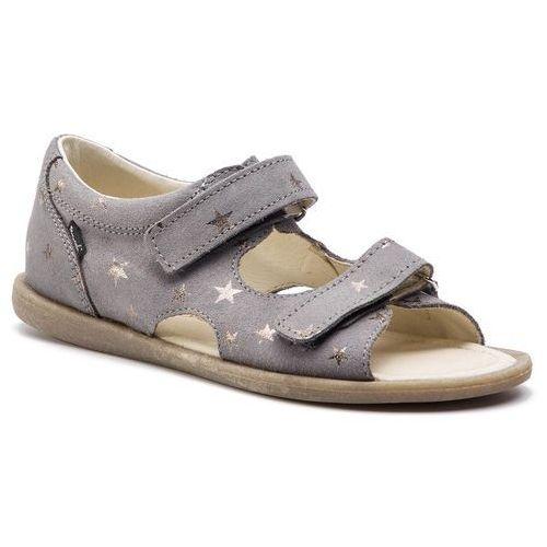 Sandały MRUGAŁA - Flo 1305/9-88 Grey Stars, kolor szary