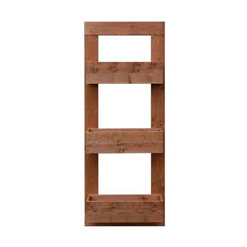 Warzywnik / zielnik 180 x 16 x 70 cm drewniane skrzynki na ramie WERTH-HOLZ