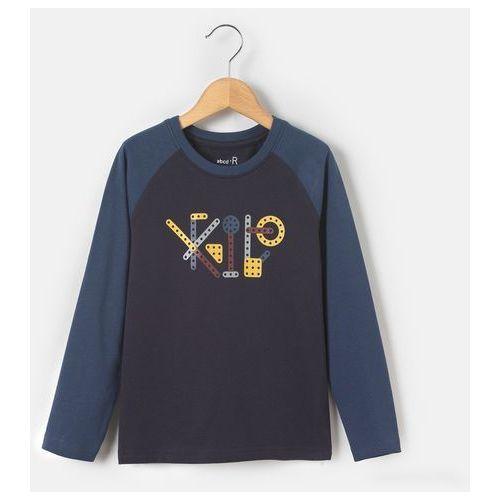 Abcd'r T-shirt z długim rękawem, z nadrukowanymi narzędziami, 3-12 lat