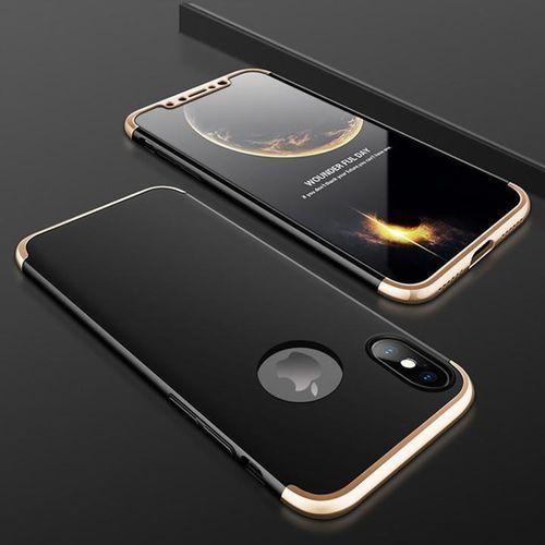 E-webmarket Etui pro 360° dla iphone x - czarno-złote - czarno-złoty \ iphone x