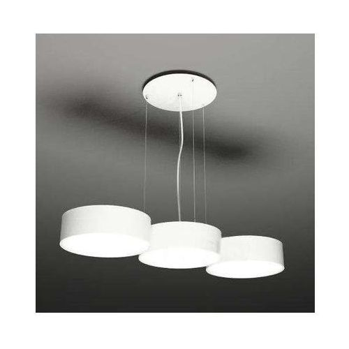 Shilo Żyrandol lampa wisząca zama 5513/gx53/bi metalowa oprawa zwis okrągły biały