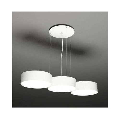 Żyrandol lampa wisząca zama 5513/gx53/bi metalowa oprawa zwis okrągły biały marki Shilo