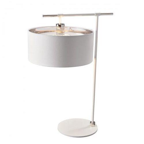 Balance Table Lamp Nocna Elstead BALANCE/TL WPN 65cm biały