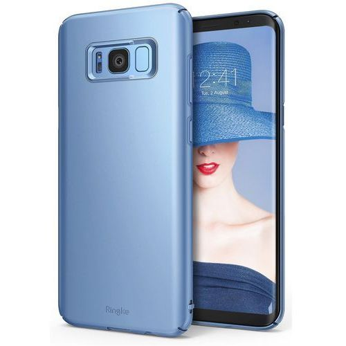 Etui Ringke Slim Samsung Galaxy S8 Plus Blue Pearl (8809525019106)